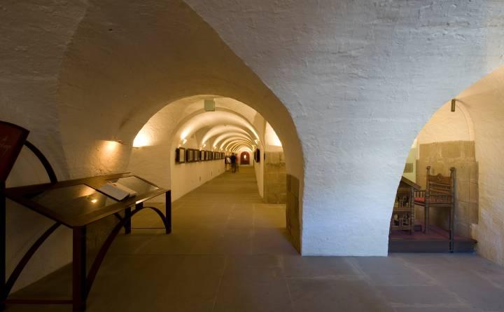 Museum below Echternach Basilica